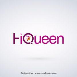 طراحی لوگو سلام ملکه
