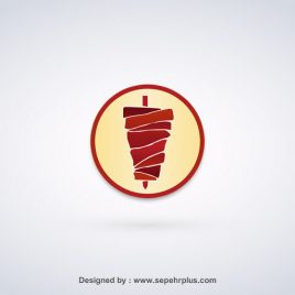 طراحی لوگو کباب