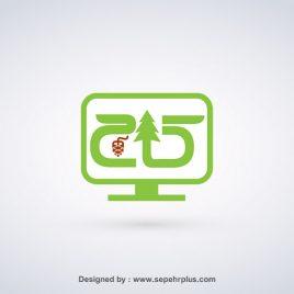 طراحی لوگو کامپیوتر کاج
