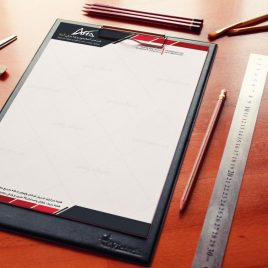 طراحی سربرگ شرکت آرتا