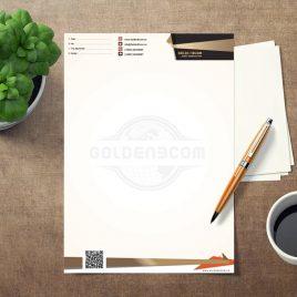 طراحی سربرگ شرکت گلدن ای وب