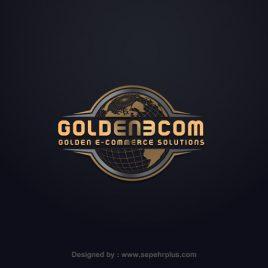 طراحی لوگو گلدن ای وب