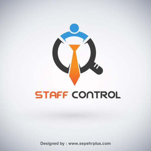 طراحی لوگو staff control