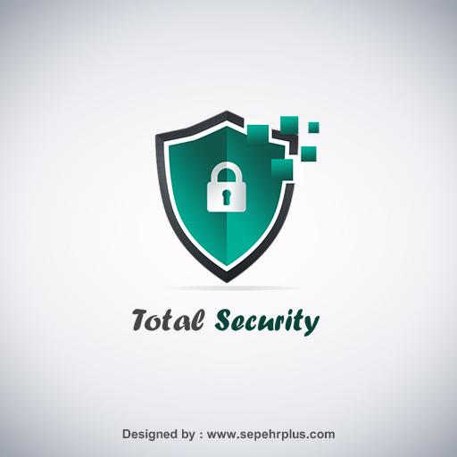 طراحی لوگو total security
