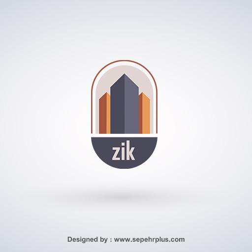 طراحی لوگو زیک