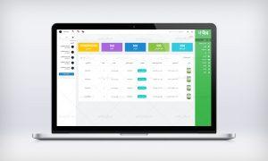 طراحی ui ux پنل مدیریت ورق