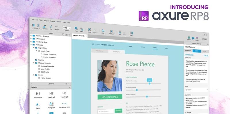 نرم افزار طراحی رابط کاربری Axure Rp