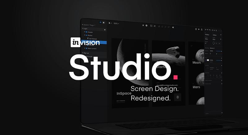 نرم افزار طراحی رابط کاربری InVision Studio
